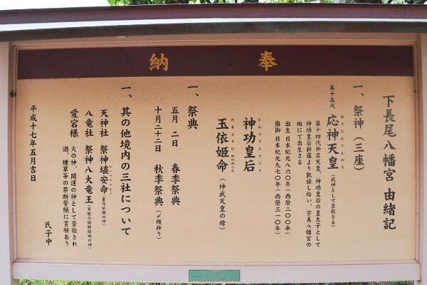 下長尾八幡神社