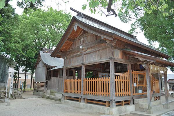 田島八幡神社本殿